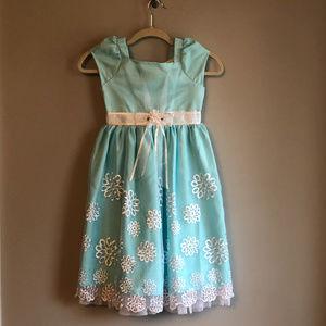 Beautiful Girl's Easter Dress 6x